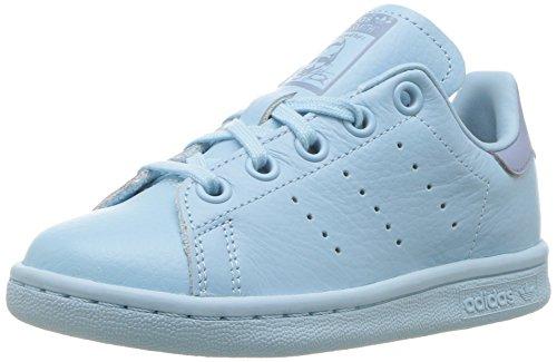 adidas Originals Unisex Stan Smith C Running Shoe, ICE Tactile Blue, 2 Medium US Little Kid