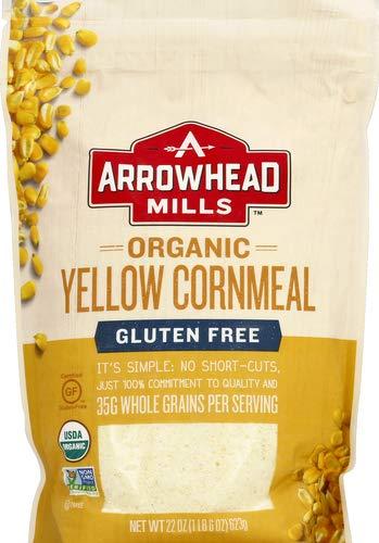 Arrowhead Mills Organic Yellow Cornmeal, 22 Ounce