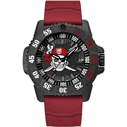 Reloj de Cuarzo Luminox Jolly Roger Limited Edition, Negro, 46mm, XS.3801.JR.Set