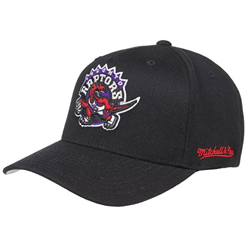 Mitchell & Ness Toronto Raptors INTL132 110 Curved Eazy NBA Flexfit Snapback...