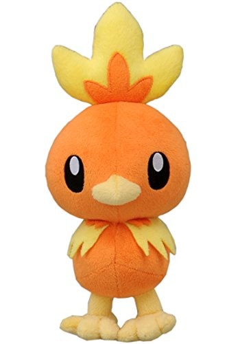 TAKARA TOMY TakaraTomy Pokemon XY Flemmli, XYN-22gefülltes Plüsch-Spielzeug, 25,4cm