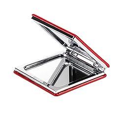 KTX7® Taschenspiegel X.4 mit magnetischem Verschluss (Rot)