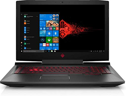 HP OMEN 17t Premium Gaming and Business Laptop (Intel 8th Gen Coffee Lake i7-8750H, 8GB RAM, 1TB HDD, 17.3' FHD (1920x1080) G-SYNC, GTX 1070, Thunderbolt 3, Win 10 Home) VR Ready (Renewed)