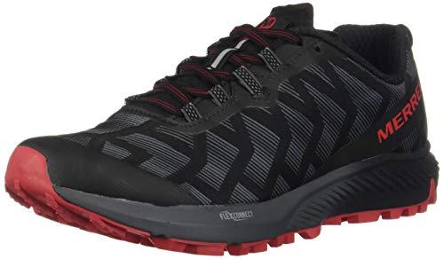 Merrell Agility Synthesis Flex, Zapatillas de Running para Asfalto para Mujer, Negro (Black/Lollipop), 37 EU