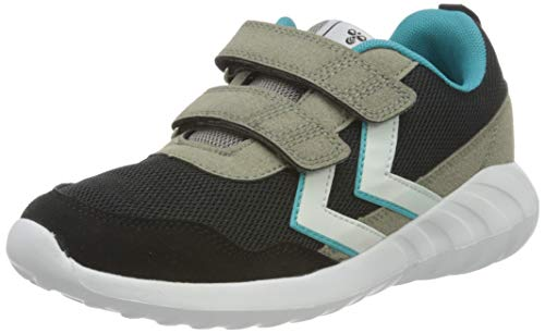 hummel Unisex-Kinder Cloud JR Sneaker, Black,34 EU