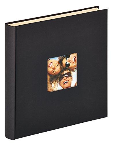 Walther design SK-110-B Fun zelfklevend album, 33 x 34 cm, zwart