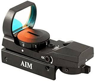 AIM Sports Dual Illuminated Red & Green Dot Sight w/ 4 Different Reticles RT4-03
