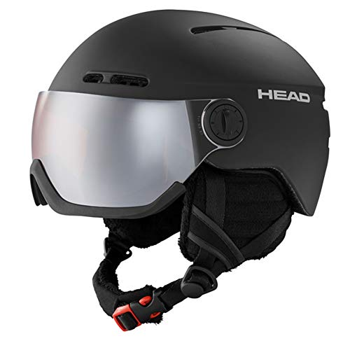 HEAD Knight Skihelm, Black, M/L (54-57)