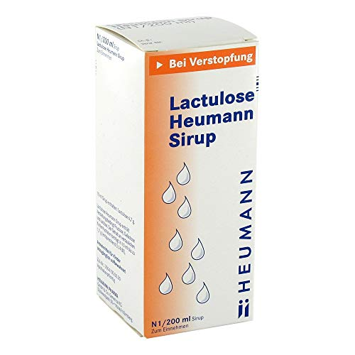 Lactulose Heumann Sirup, 200 ml Sirup