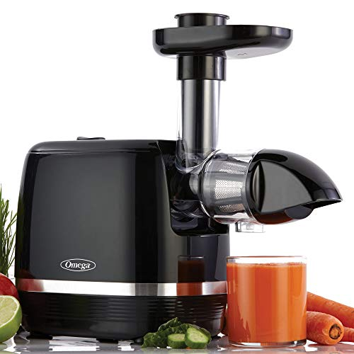 Omega H3000D Cold Press 365 Juicer Slow Masticating Extractor Creates Delicious Fruit Vegetable and Leafy Green High Juice Yield and Preserves...