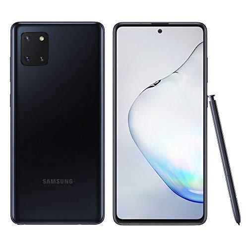 "SAMSUNG Galaxy Note 10 Lite Smartphone Portable débloqué (Ecran : 6,7"" - 8 Go/128 Go - Double Sim - Android) N770 Noir"