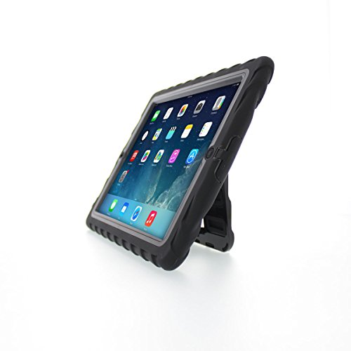 case up ipad 3 protection cases Gumdrop Cases Hideaway Stand for Apple iPad 3 Rugged Tablet Case Shock Absorbing Cover Black/Black A1403, A1416, A1430