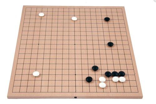Spiel 19x19 Buchenfurnierbrett