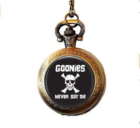 b2b Goonies Never Say Die - Reloj de bolsillo con colgante