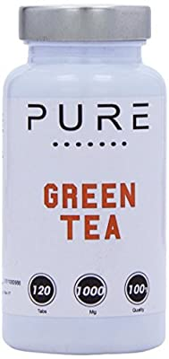 Bodybuilding Warehouse Pure Green Tea 120 Tablets