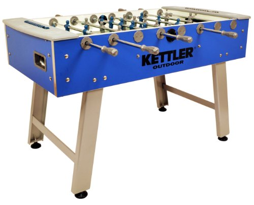Kettler Weatherproof Indoor/Outdoor Foosball/Soccer Game Table
