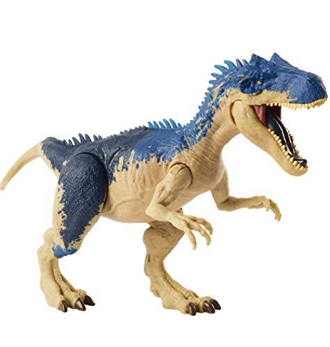 Ltong Jurassic World Dragon Allosaurus, Dinosaurio Multicolor Animal De Juguete De Plástico para Niños Toy Dragon Simulación Animal Dragon