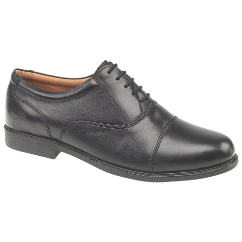 Amblers Hombre London Zapatos Estilo Oxford Formal Parte Superior Forro De Cuero Negro 39