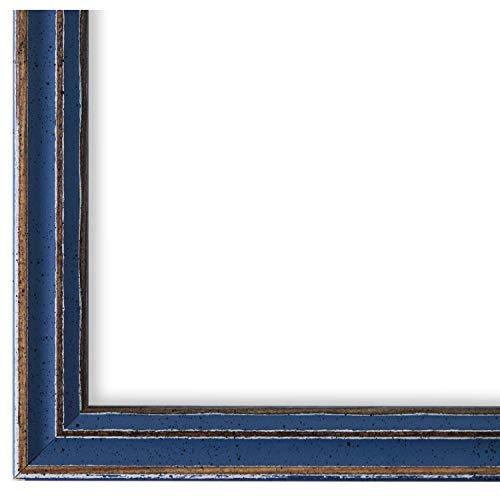 Online Galerie Bingold Bilderrahmen Hell-Blau 40 x 40 cm 40x40 - Modern, Shabby, Vintage - Alle Größen - handgefertigt - WRF - Cosenza 2,0