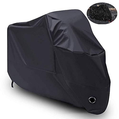 Linghuang beschermhoes 420D Oxford stof motorfiets regenbescherming beschermhoes voor motorfiets scooter 265 x 105 x 125 cm (XXXL)