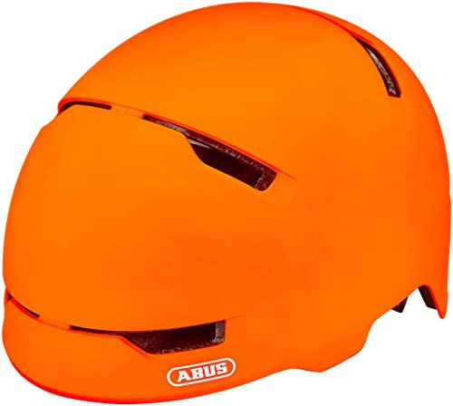 Abus Unisex– Erwachsene Scraper 3.0 Fahrradhelm, signal orange, L (57-61 cm)