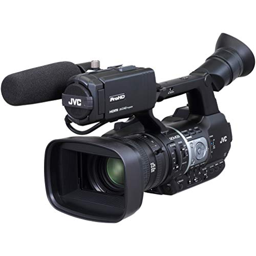 JVC GY-HM620E Handheld/Shoulder Camcorder 2.5MP 3CMOS Full HD Schwarz - Camcorder (2,5 MP, 3CMOS, 25,4/3 mm (1/3 Zoll), 23x, 29-667 mm, 7,2 cm)