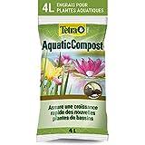 Tetra Pond AquaticCompost - Engrais, Terreau pour Fond de Bassin – Nutriments pour Plantes de Bassin de Jardin et d'Ornement - Favorise la Croissance des Plantes – 4 L