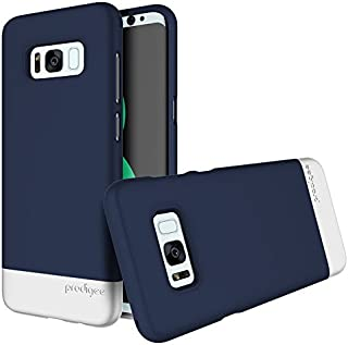 Prodigee [Accent] Navy Blue/Silver for Galaxy S8 (5.8
