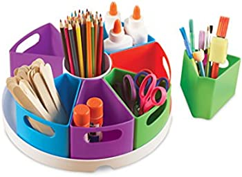 10-Pieces Learning Resources Create A Space Storage Center