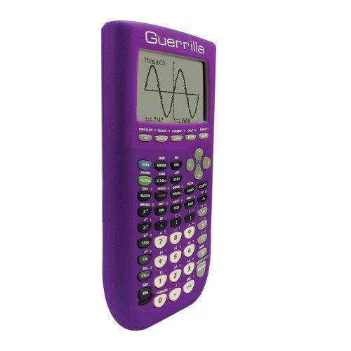 Guerrilla Silicone Case for Texas Instruments TI-84 Plus Graphing Calculator, Purple Photo #6