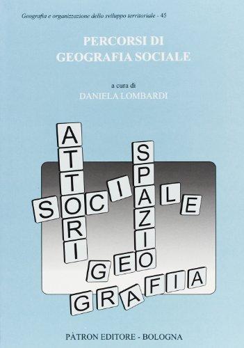 Percorsi di geografia sociale