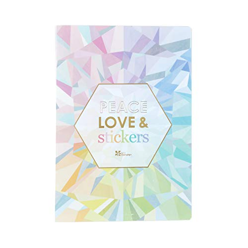 Erin Condren Designer Sticker Album - 24 Pages, Holds 48 Sticker Sheets. Keeps All of Your Favorite Stickers in One Organized Place. Cute, Pretty, Durable, Organization