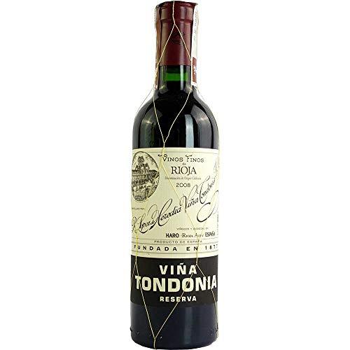 Vina Tondonia Reserva tinto 2008 Rioja Reserva DO Rotwein trocken Lopez de Heredia Vina Tondonia Spanien 375ml-Fl (52,53€/L)