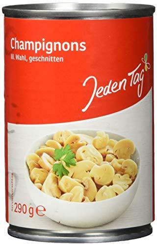 Jeden Tag Champignons geschnitten in der Dose, 290 g