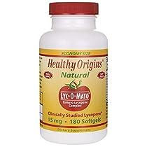 Healthy Origins - Lyc-O-Matoのトマトのリコピン複雑な 15 mg。1ソフトジェル