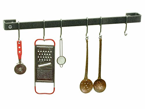 Enclume Premier 18-Inch Utensil Bar Wall Pot Rack