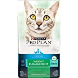 Purina Pro Plan With Probiotics, Grain Free Dry Cat Food, FOCUS Weight Management Turkey & Egg - 3.2 lb. Bag