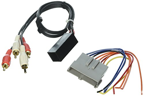 SCOSCHE 1989-94 Ford Premium Sound Retention Wire Harness kit; Power and RCA to Dash/Amp Input