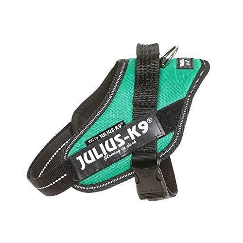 Julius-K9, 16IDC-GG-M, IDC Powerharness, Dog Harness, Size: Mini, Grass Green