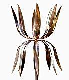 Stanwood Windskulptur Kinetische Kupfer-Windskulptur, Doppel-Spinner, Tanzender Oktopus