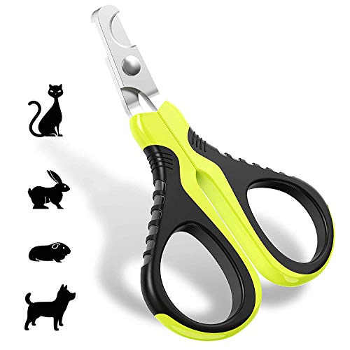 JOFUYU Pet Nail Clippers for Small Animals - Best Cat Nail Clippers & Claw Trimmer for Home Grooming Kit - Professional Grooming Tool for Tiny Dog Cat Bunny Rabbit Bird Puppy Kitten Ferret