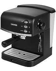 MS 4409 Espressomachine, waterreservoir van 1,5 liter, 850 watt, 15 bar, koffiezetapparaat, melkopschuimer, cappuccino
