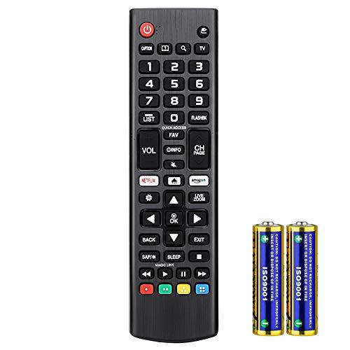 universale Telecomando per LG Smart TV LCD LED HDTV AKB75095308 AKB74915324 AKB73715601 Compatibile con tutti i telecomandi per LG tv