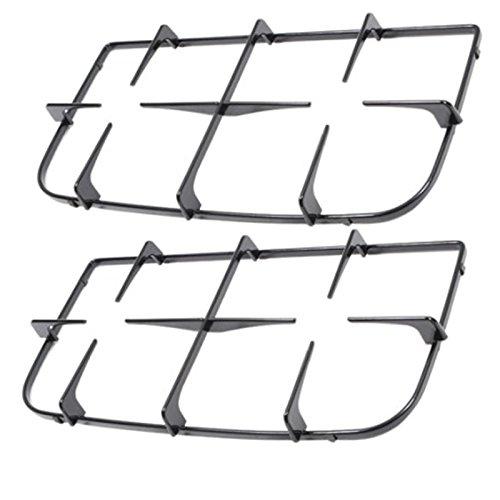 SPARES2GO Dubbele Pan Ondersteuning voor Ariston Oven Kookplaat (Pak van 2, 440mm x 223mm)