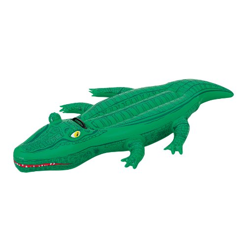 Bestway 41010 - Schwimmtier Krokodil ca. 168 x 79 cm