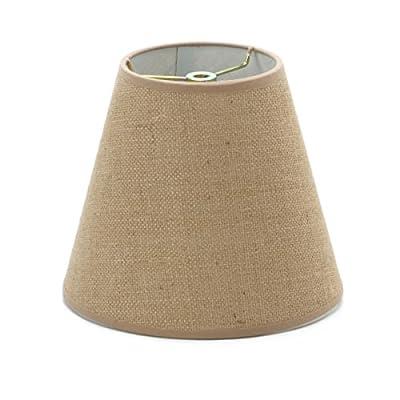 Darice Small Lamp Shade: Burlap, 4.5 x 8 x 7 Inches
