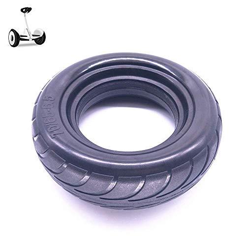 CHHD Neumáticos para Scooter eléctrico, Neumáticos sólidos Resistentes al Desgaste a Prueba de explosiones, Antipinchazo no Inflable sin Mantenimiento, Adecuado para Scooter/Coche de