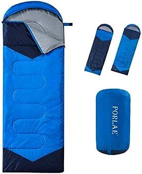 Porlae Camping 4 Season Sleeping Bag with Compression Sack