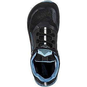 ALTRA Women's AL0A4VR9 Lone Peak All-WTHR Low Trail Running Shoe, Black/Blue - 9 M US