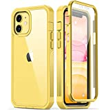 GOODON iPhone 11 Case with Built-in Screen Protector,Pass